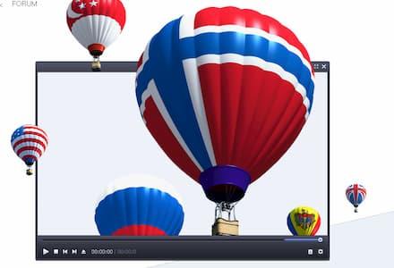 برنامج تشغيل الفيديو PotPlayer