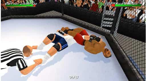 لعبة مصارعة Wrestling revolution 3D apk