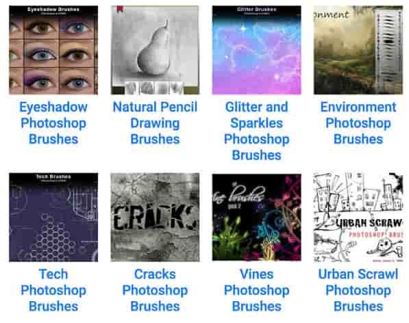 فرش فوتوشوب photoshop brushes