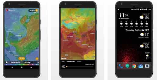افضل برامج الطقس لهواتف اندرويد 2019 (weather apps)