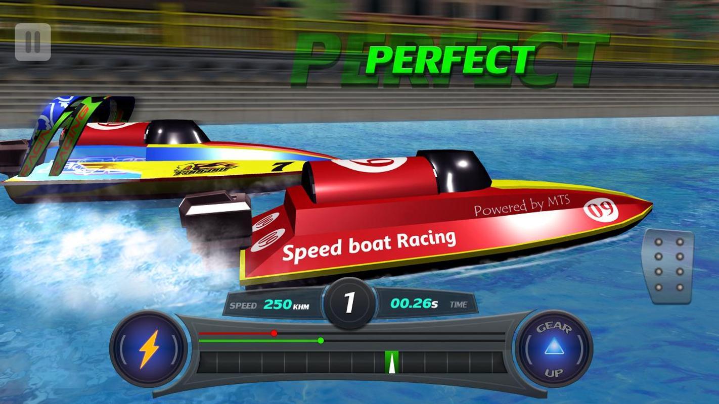 لعبة Speed boat Racing