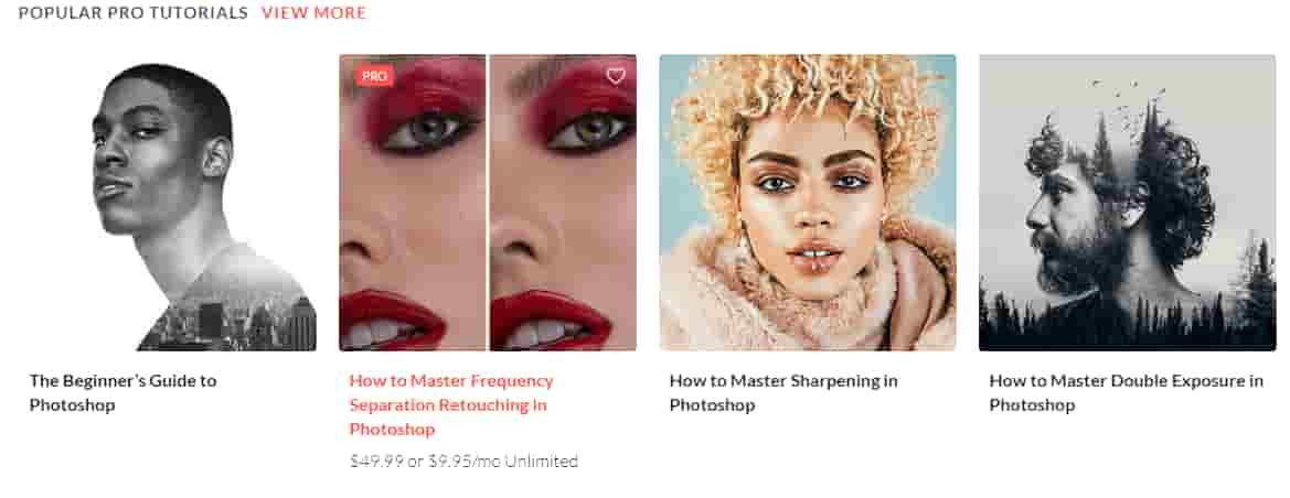 افضل 10 مواقع لتعلم تصميم الصور على الفوتوشوب : تعلم الفوتوشوب