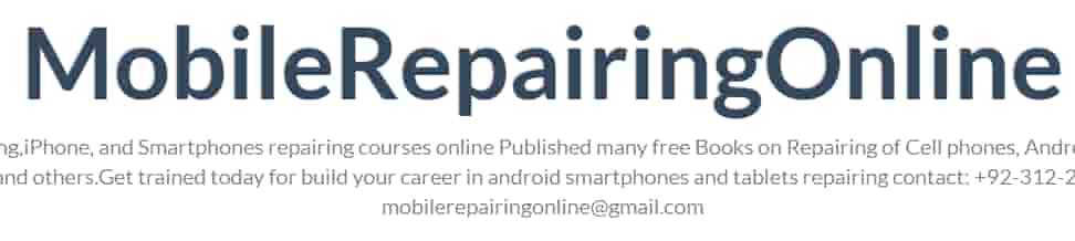 موقع رائع في مجال إصلاح الهواتف الذكية