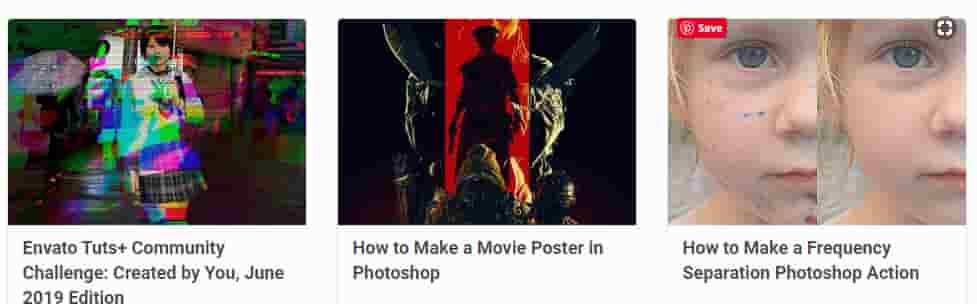 افضل 10 مواقع لتعلم تصميم الصور على الفوتوشوب