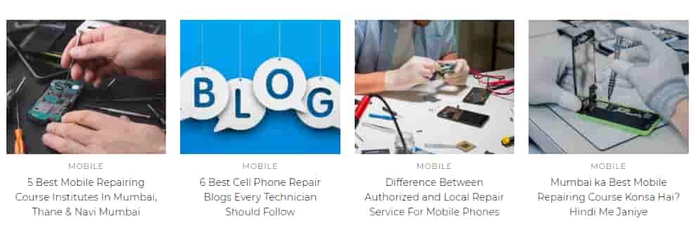 موقع لصيانة الهواتف الذكية