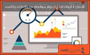 افضل 10 ادوات تحليل زوار موقعك ومراقبة تحركاتهم (web analytics)
