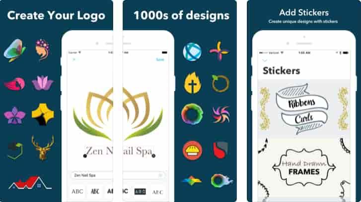 برنامج تصميم شعار Logo Maker: Designer