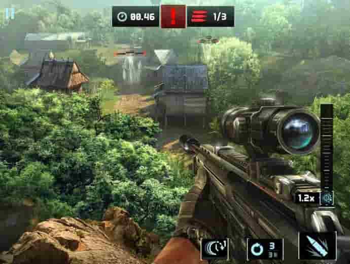 لعبة الاكشن Sniper Fury
