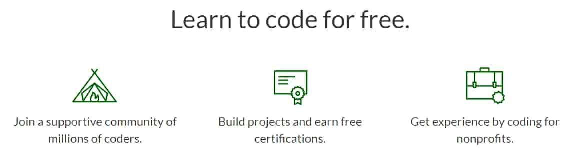 موقع تعليم البرمجة free code camp