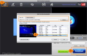 برنامج WinX YouTube Downloader
