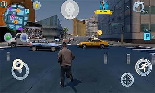 اقوى لعبة عالم مفتوح للاندرويد والايفون - شبيه لعبة GTA