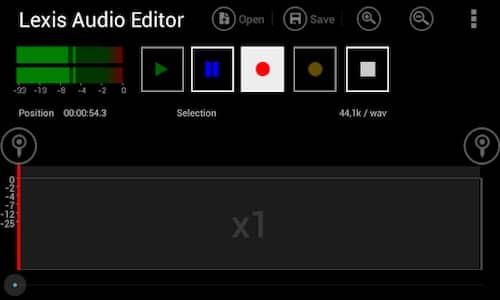 برنامج مونتاج الصوت للاندرويد والايفون