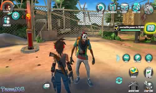 افضل لعبة عالم مفتوح للاندرويد والايفون - Survival game