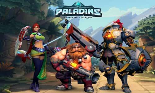 لعبة paladins افضل العاب او لين