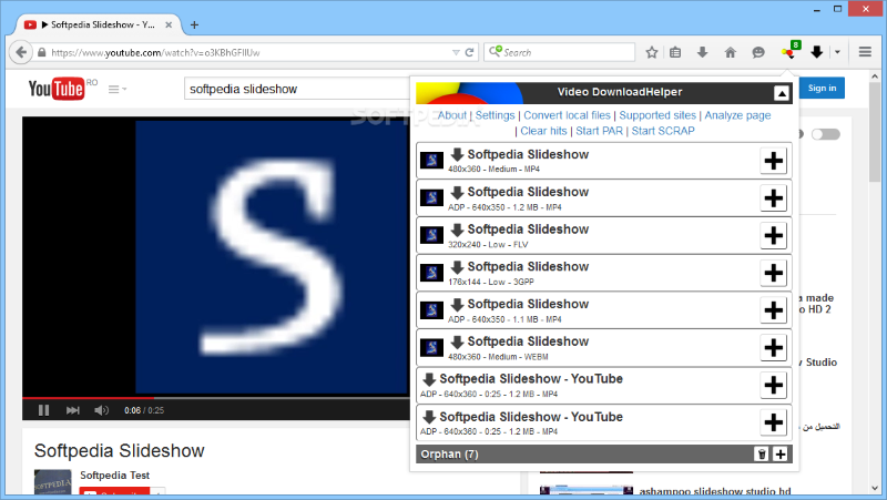 إضافة فايرفوكس لتحميل الفيديو من أي موقع