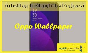 تحميل خلفيات اوبو اف 11 برو الاصلية – خلفيات Oppo F11 Pro
