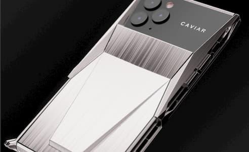 الكشف عن Caviar Cyberphone - جهاز iPhone 11 Pro معدل من شركة تيسلا 5
