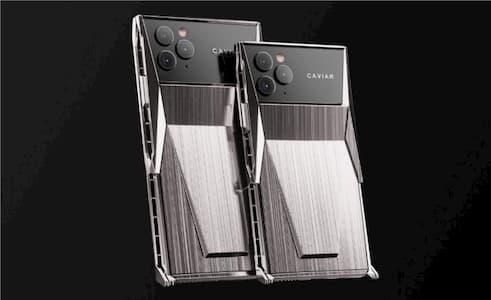 الكشف عن Caviar Cyberphone - جهاز iPhone 11 Pro معدل من شركة تيسلا 7
