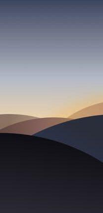 خلفياتColorOS 7 الأصلية (1)