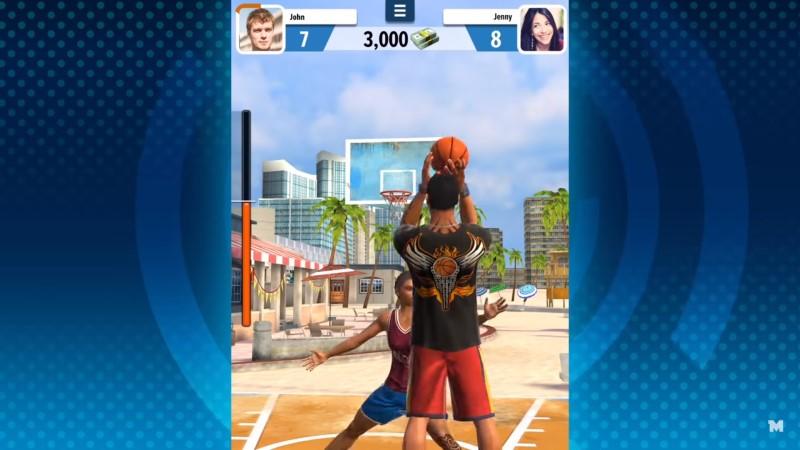 لعبة كرة سلة ذات شعبية كبيرة