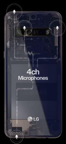 تكشف تسريبات LG V60 ThinQ عن كاميرا رباعية و بطارية بحجم 5000 مللي أمبير