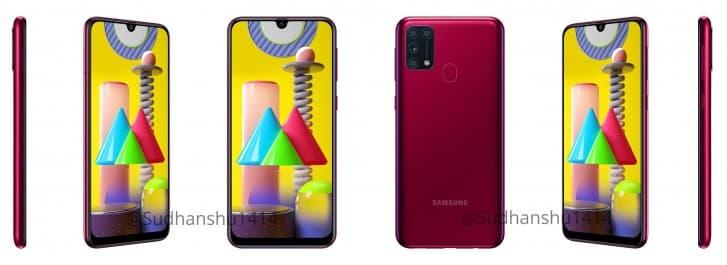 مواصفات هاتف Samsung Galaxy M31