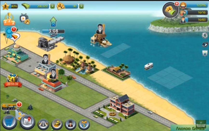 افضل لعبة بناء مدينة بدون نت للاندرويد والايفون