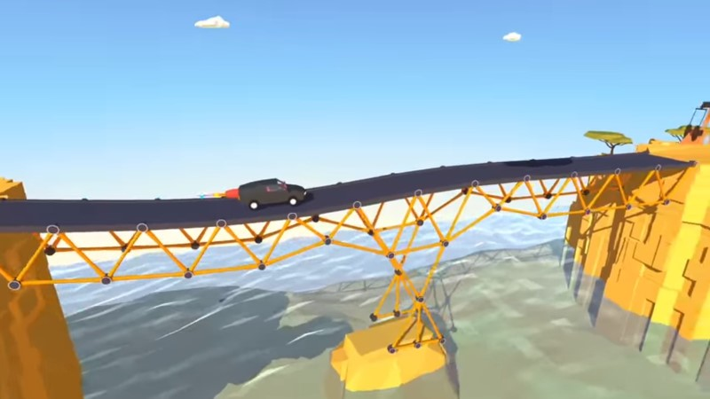 Build A Bridge لعبة الذكاء الاسطورية