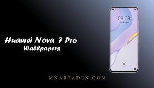 خلفيات هواوي نوفا 7 برو الاصلية | خلفيات Huawei Nova 7 Pro الرسمية