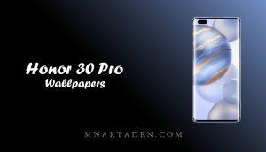 تنزيل خلفيات Honor 30 Pro الاصلية | خلفيات هونر 30 برو الرسمية