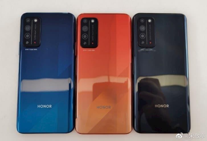 اللوان هاتف Honor X10 قبل الإطلاق