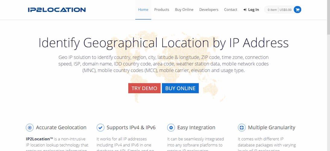 موقع معرفة الموقع الجرافي لأي عنوان IP