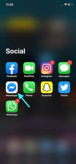 تفعيل خاصية App lock للفيسبوك ماسنجر