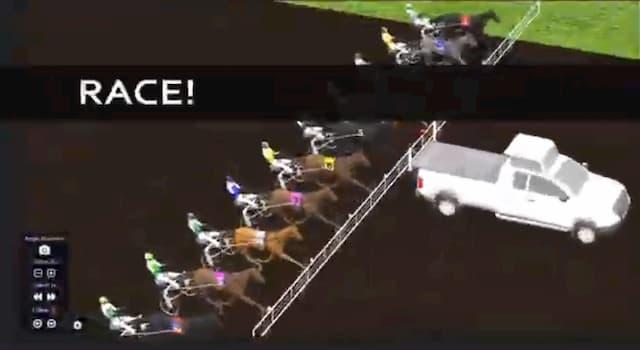 لعبة سباق الخيول السريع