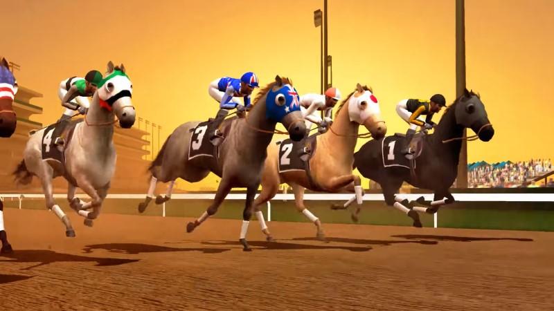 لعبة سباق الخيول المشهورة
