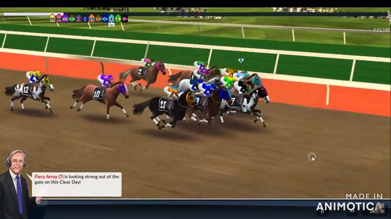 واحدة من افضل العاب سباق الخيول السريعة والحقيقية للاندرويد والايفون 2021