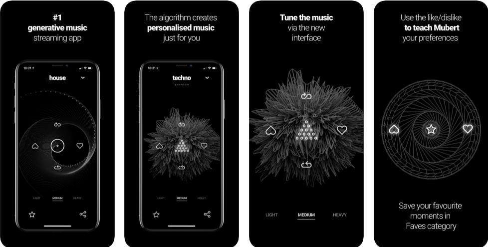 تطبيق تشغيل موسيقى هادئة للاسترخاء للايفون