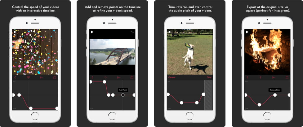 تطبيق للتحكم في سرعة الفيديو للايفون 2021