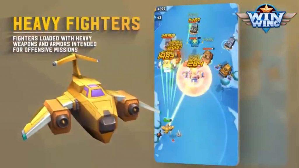 تنزيل لعبة WinWing_ لعبة قتال طائرات رائعة للايفون والاندرويد