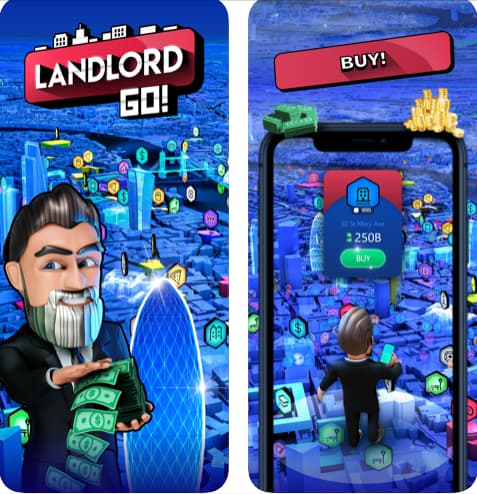 لعبة Landlord GO لعبة بناء وإدارة المدن للاندرويد والايفون