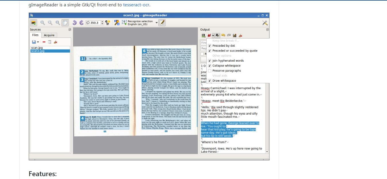 برنامج تحويل الصورة الى نص للكمبيوتر