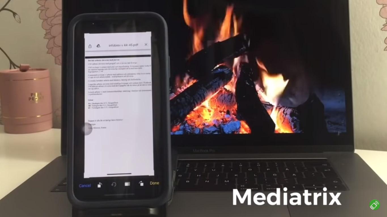 برنامج تحويل الصور الى نص للايفون Mediatrix