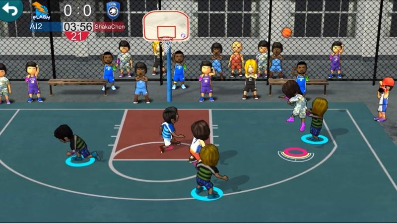 افضل العاب كرة السلة المجانية للايفون والاندرويد