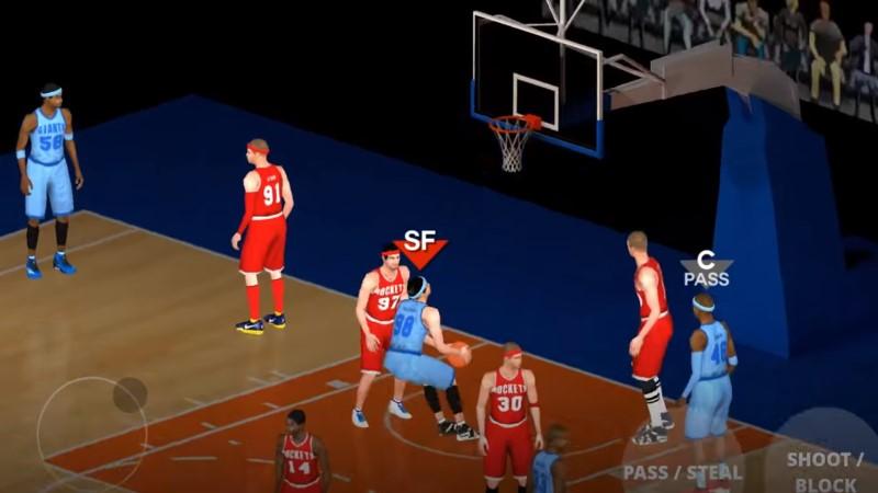 العاب كرة السلة متعة على نظام أندرويد و iOS