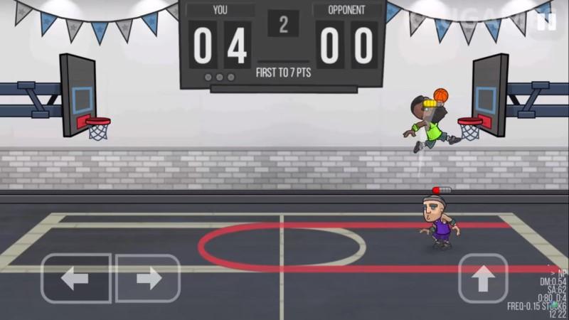لعبة كرة سلة بسيطة للاندرويد والايفون